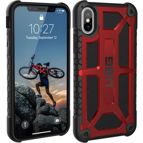 buy authentic product Uag Monarch Handcrafted Rugged Military Std Case For Iphone XS / iPhone X - Crimson for your brand new devices. Authorized distributor and free shipping australia wide.