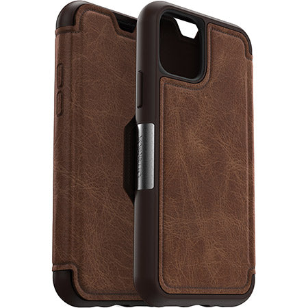"Shop Australia stock Otterbox Strada leather Folio Wallet Case For iPhone 11 Pro (5.8"") - Espresso with free shipping online. Shop OtterBox collections with afterpay"