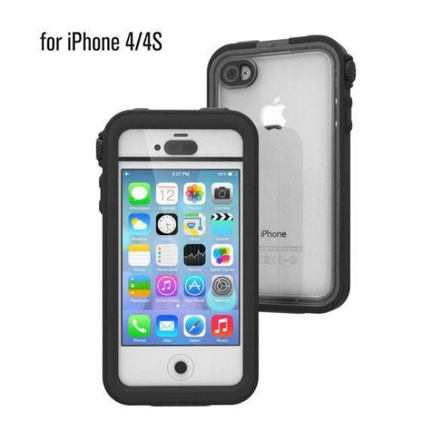 CATALYST WATERPROOF CASE FOR IPHONE 4/4S -  STEALTH BLACK Australia Stock