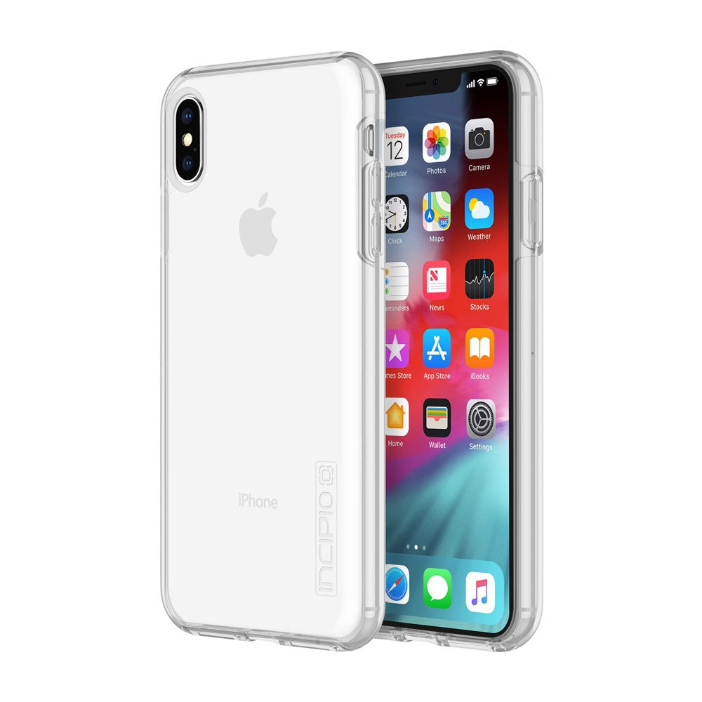 Shop online the new iPhone XS Max Dualpro Dual Layer Protective Clear Case Australia Stock