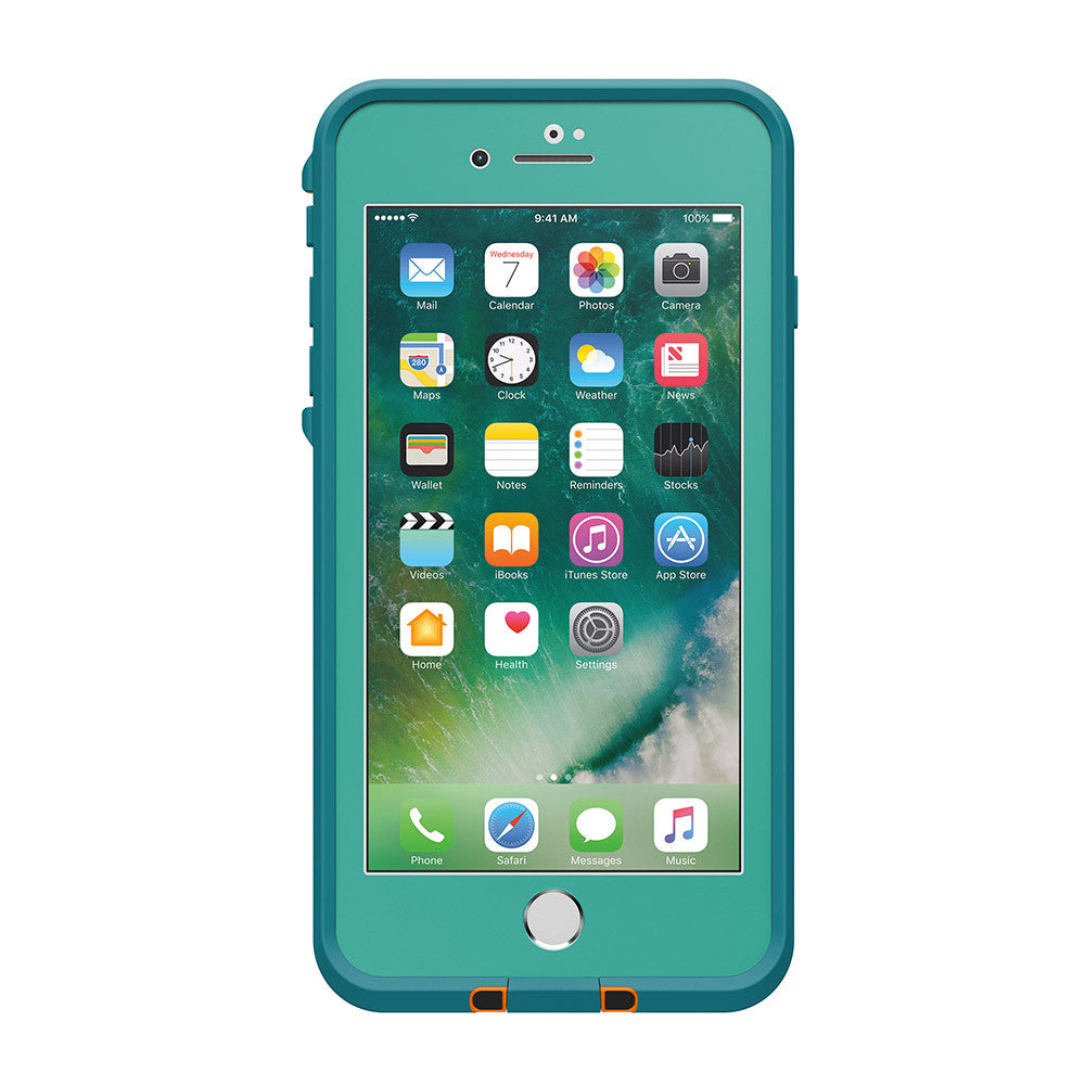 Trusted official online store Australia Lifeproof Fre Built-in Scratch Protector iPhone 7+ Plus Waterproof Case Teal Green. Australia Stock