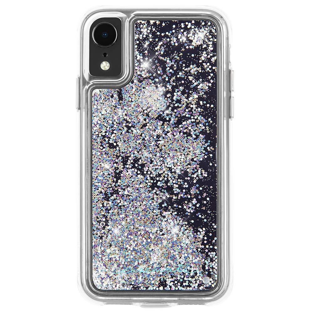 Glitter silver case for iPhone XR from Casemate Australia. Shop online & save shipping only at syntricate Australia Stock