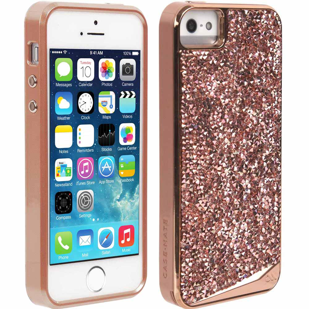buy genuine CaseMate Brilliance Case for iPhone SE/5s/5 - Rose Gold australia Australia Stock