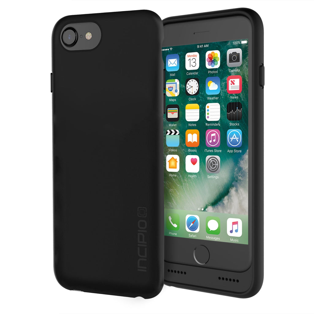 detailed look 658a6 a51ac INCIPIO GHOST QI WIRELESS CHARGING CASE FOR IPHONE 7/6S/6 - BLACK