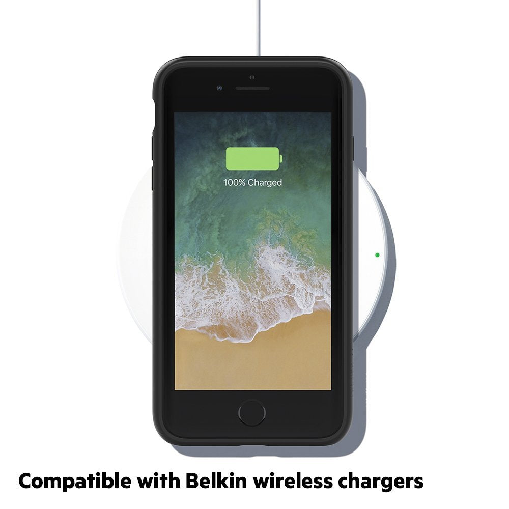 Shop Australia stock BELKIN SHEERFORCE ELITE PROTECTIVE CASE FOR IPHONE 8 PLUS/7 PLUS - BLACK with free shipping online. Shop Belkin collections with afterpay Australia Stock