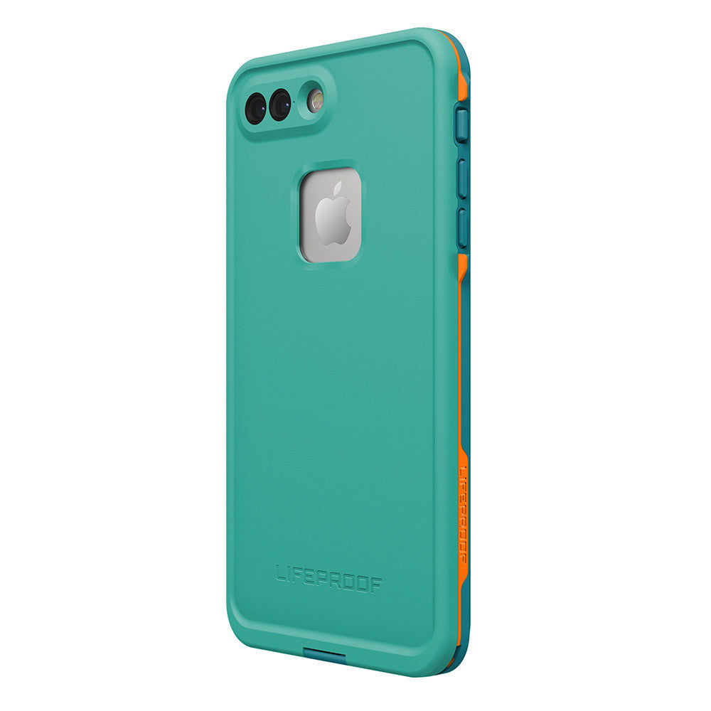 Australia Lifeproof Fre Built-in Scratch Protector iPhone 7+ Plus Waterproof Case Teal Green Australia Stock