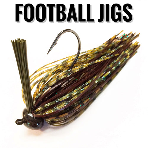 Football Jigs - Buck's Custom Lures