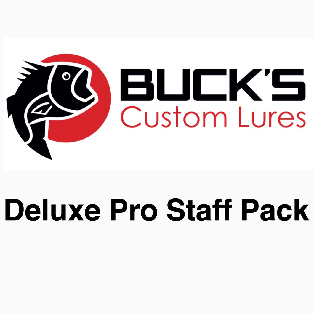 Deluxe Pro Staff Pack - Long Sleeve Logo T-Shirt - Buck's Custom Lures