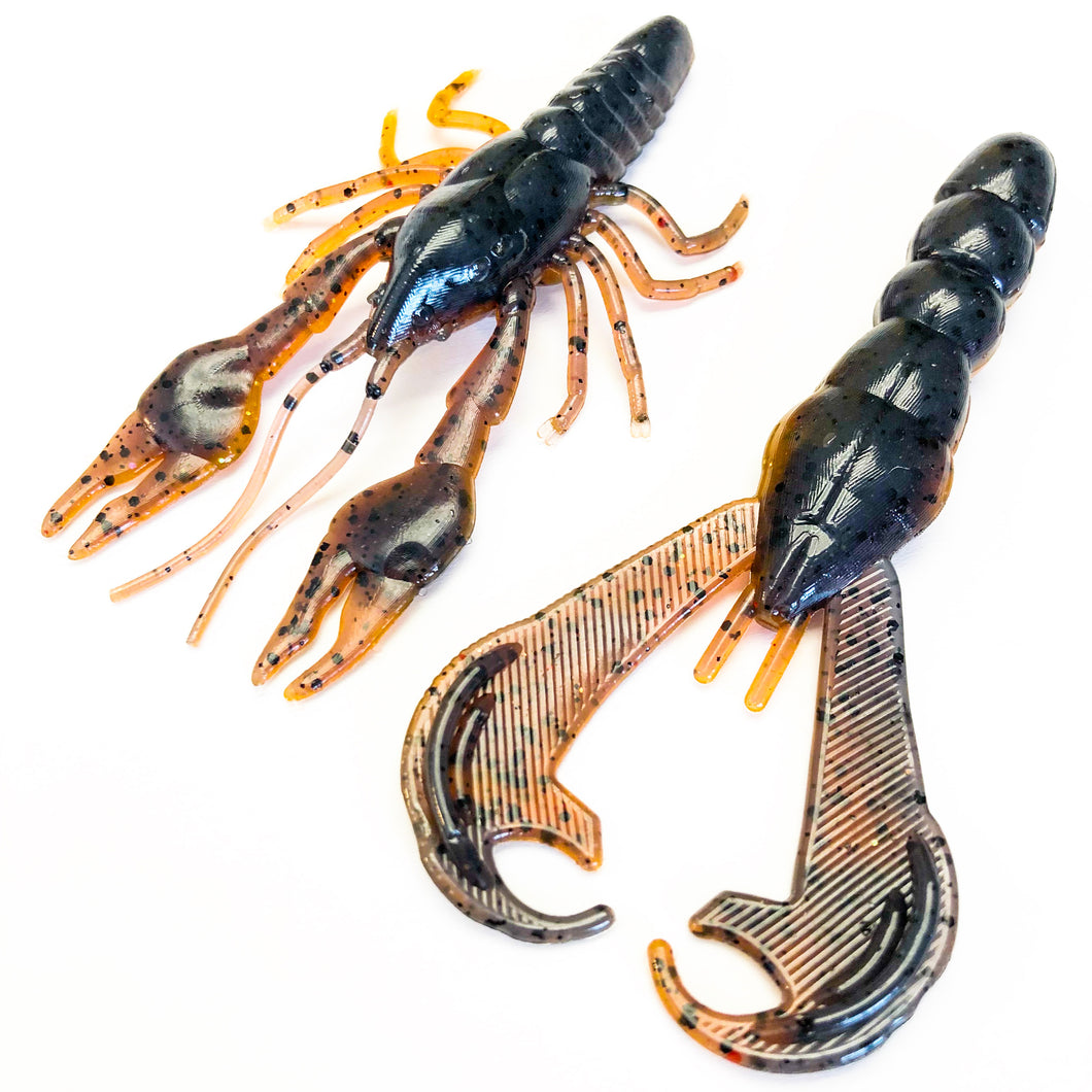 Ready-Made Crusher Craws and Killer Craws - Buck's Custom Lures