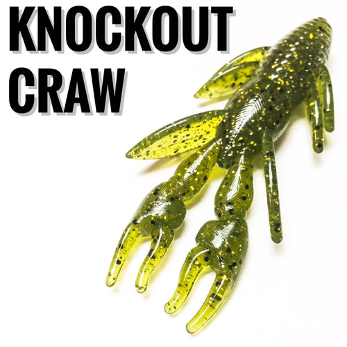 Knockout Craw - Buck's Custom Lures
