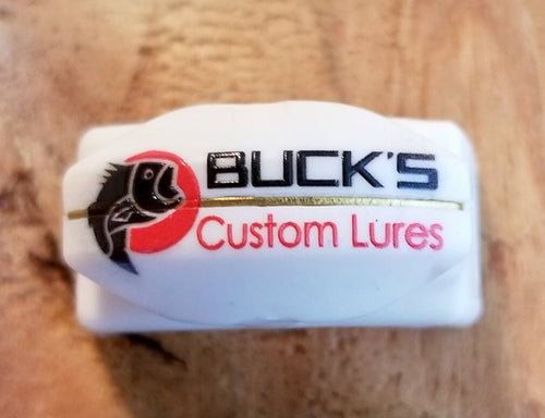 Line Cutterz Ring w/ Buck's Custom Lures logo