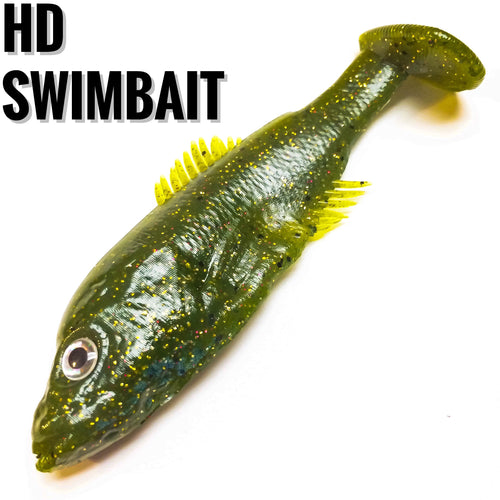 HD Swimbait - Buck's Custom Lures