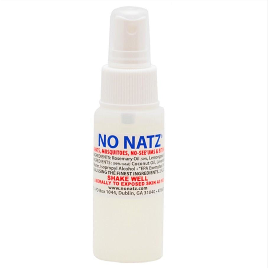 NO NATZ  2 oz. Spray - Buck's Custom Lures