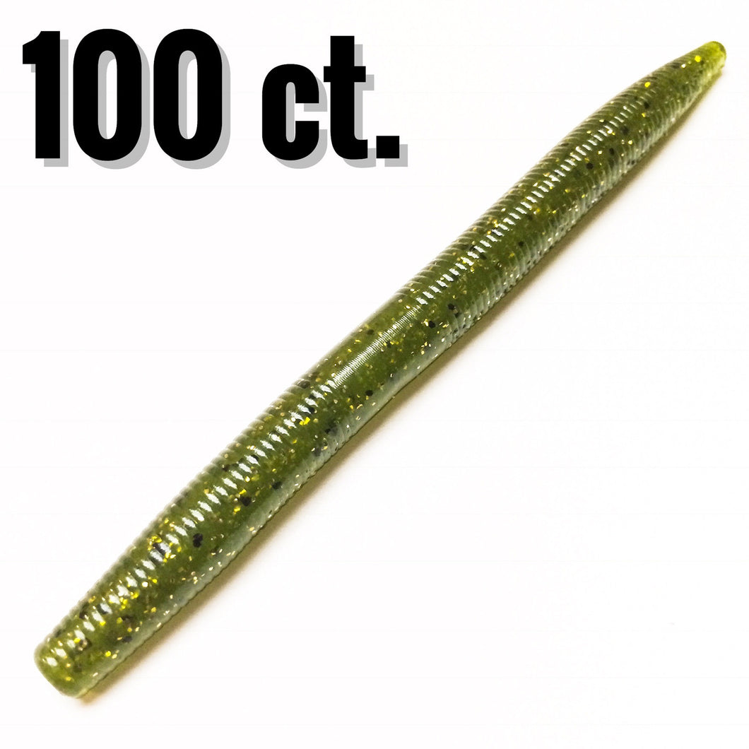 Bulk Order Single Color Stick'em Sticks  100 ct. - Buck's Custom Lures