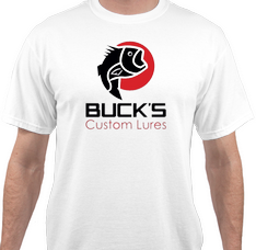 Short Sleeve Logo T-Shirt - Buck's Custom Lures