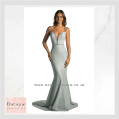 silver prom dress with sparkles huge prom showroom in chesterfield