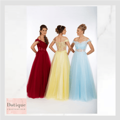 pf9607 lemon, aqua and red prom dress chatsworth road chesterfield.