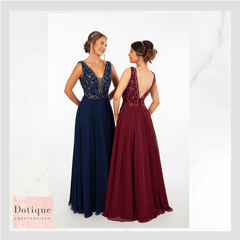 chesterfield best prom dress stockist red and blue dress