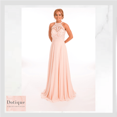 Dotique prom dresses chesterfield blush and chiffon prom dress prom frocks 9283