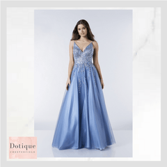 blue sparle prom dress midland prom dress specialist stockist