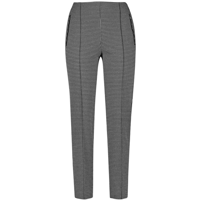 92389 Black/Ecru Trousers