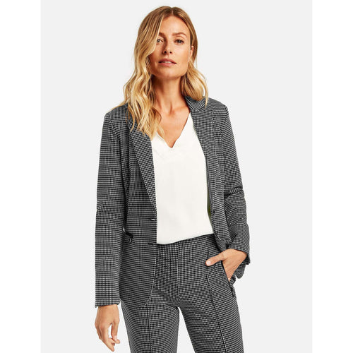 Gerry Weber 93187 Black/ White Jacket with trousers