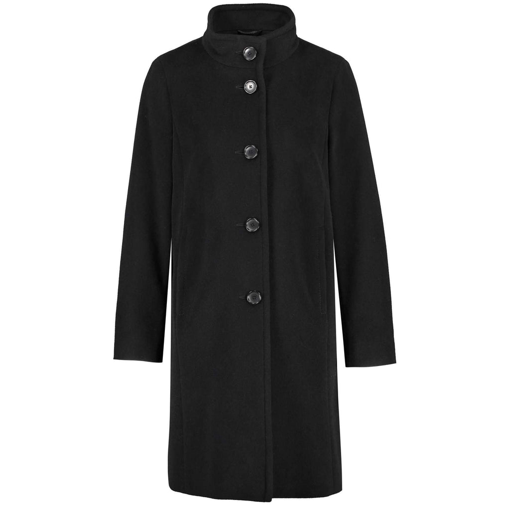 Gerry Weber 95104 Black Coat front