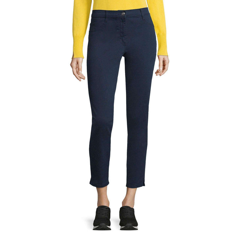 Betty Barclay Dark Blue Mid Rise Stretch Jeans
