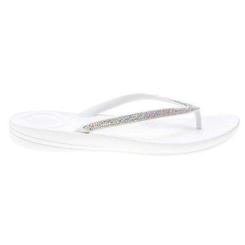 Iqushion White Sparkle Shoe