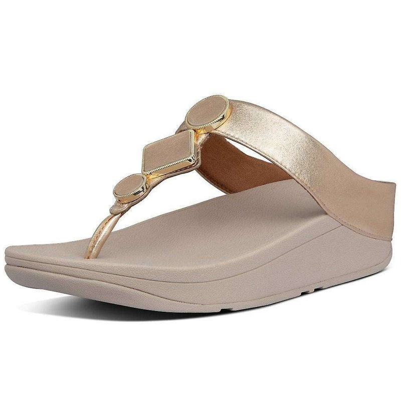 FitFlop Leia Vintage Gold   side