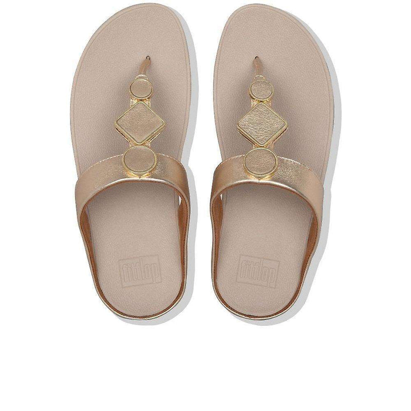 FitFlop Leia Vintage Gold   top