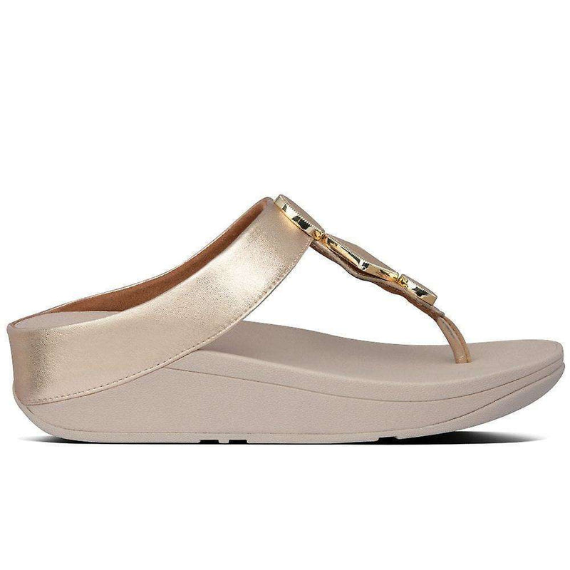 FitFlop Leia Vintage Gold   side 2