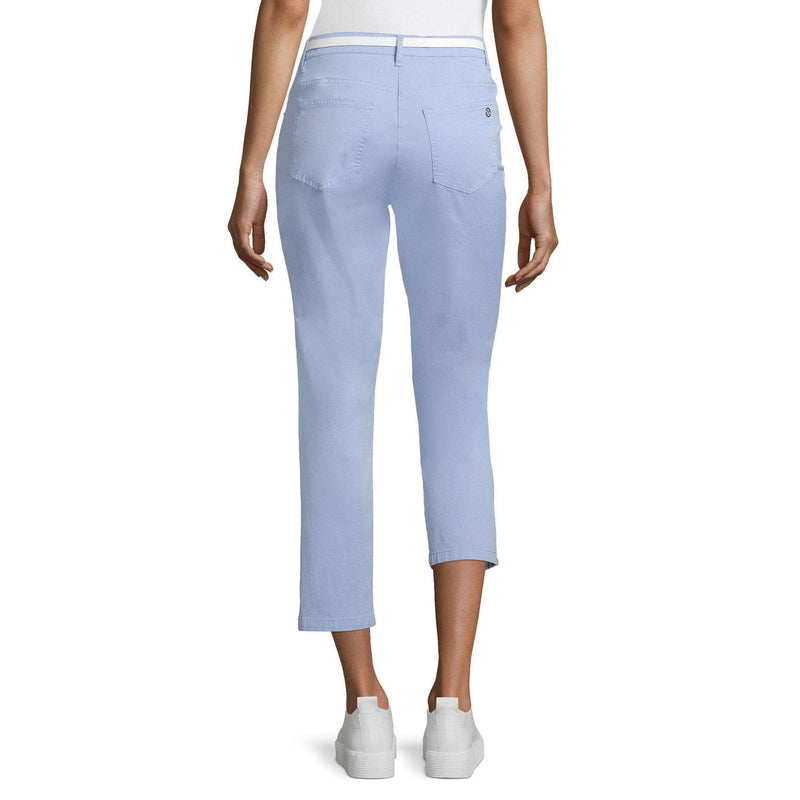 Pale Blue 7/8 Trousers