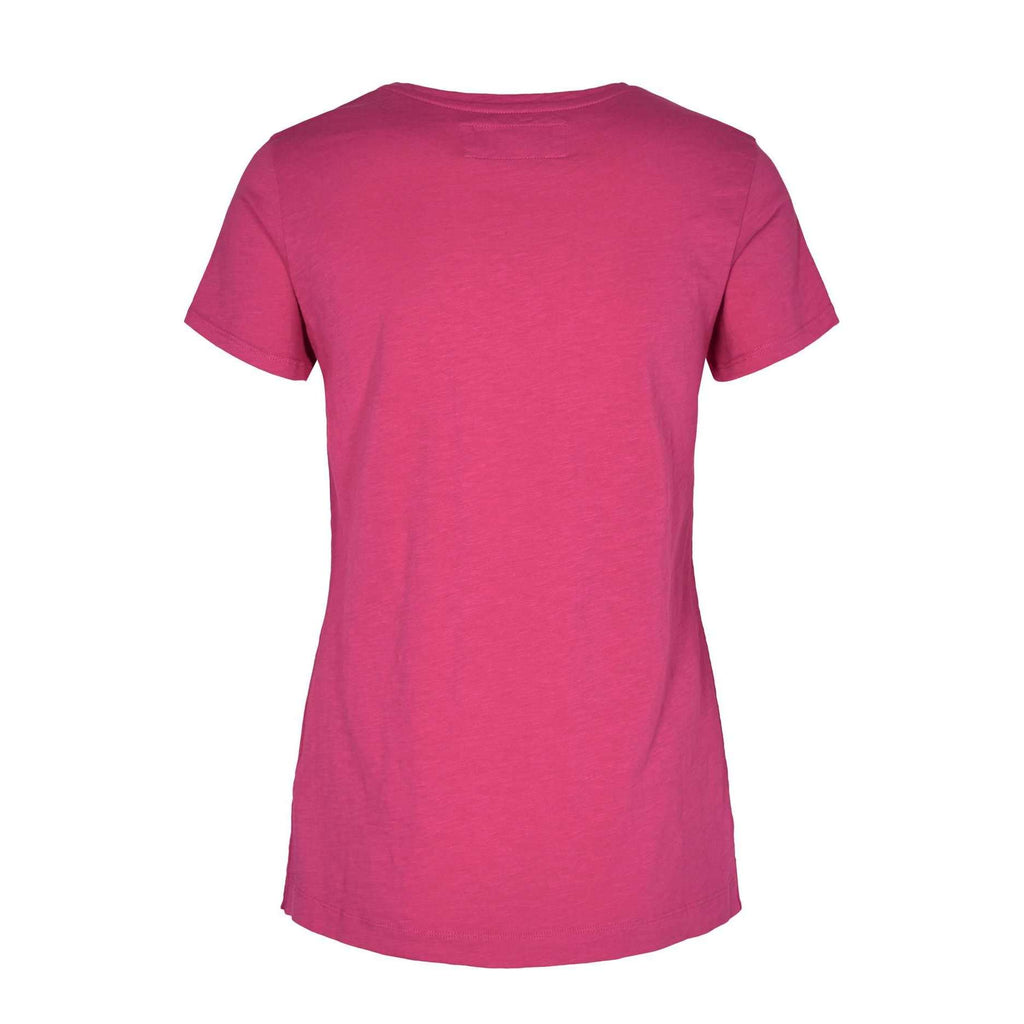 Arden Raspberry Sorbet V neck T- Shirt