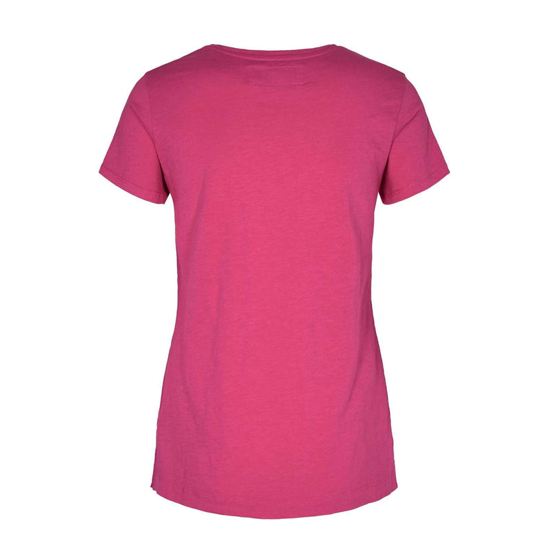 Products Mos Mosh Arden Raspberry Sorbet V neck T- Shirt back