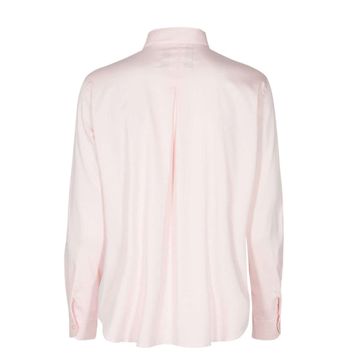 Clara Soft Rose Ribbon Shirt