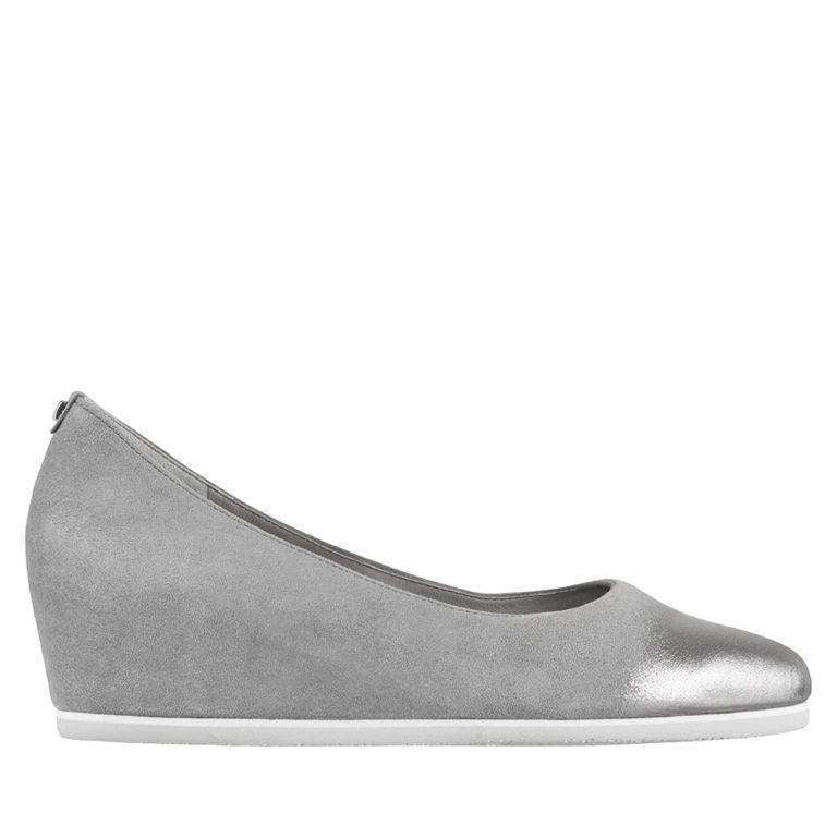 HOGL Grey Summer Wedge Shoe 4207