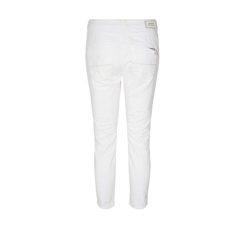 Naomi Muscat 7/8 White Trousers