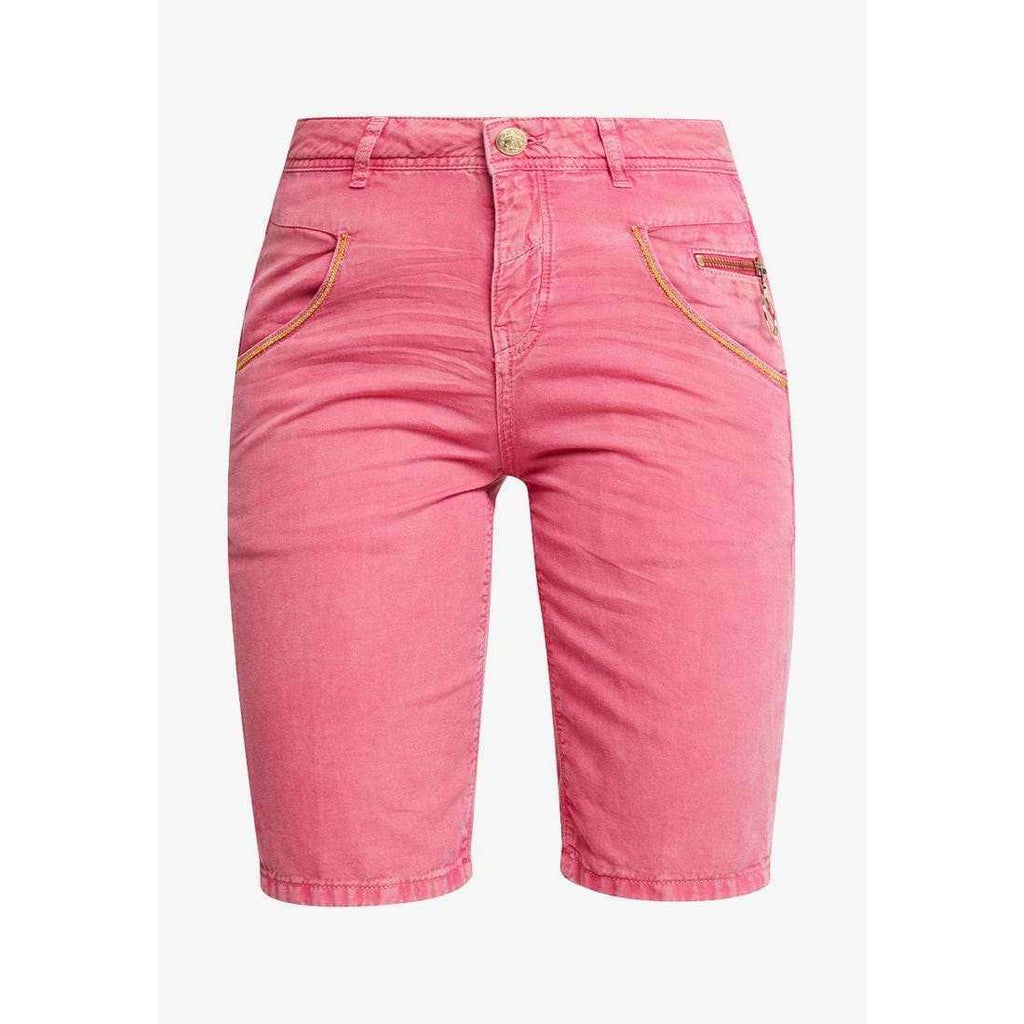 Nelly Block Shorts Raspberry Sorbet