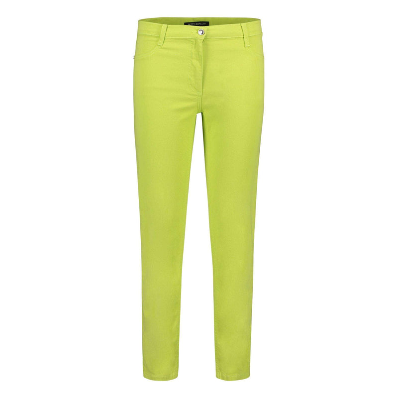 Wild Lime Cropped Jeans