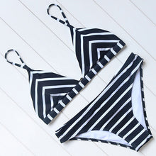 Triangle Stripe Bikini (5 Colors)