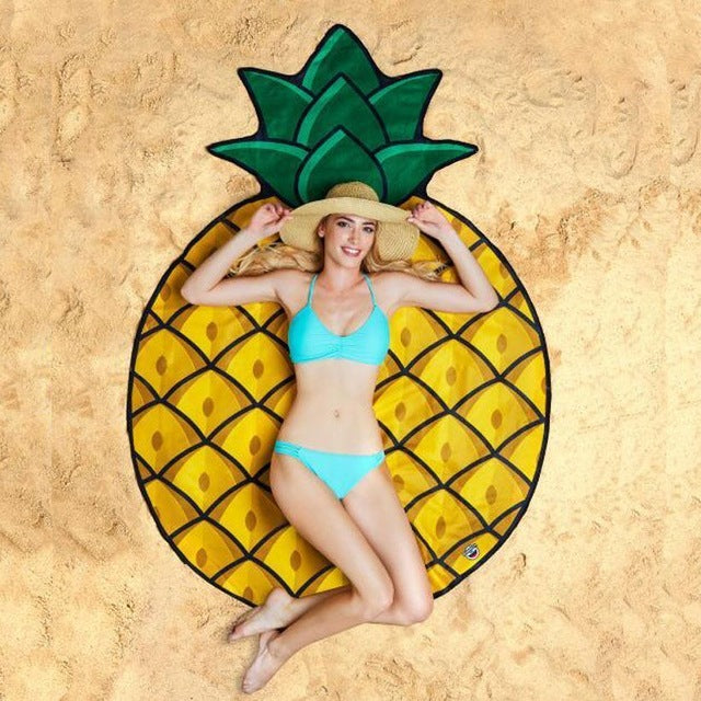 Pineapple Beach Towel Blanket