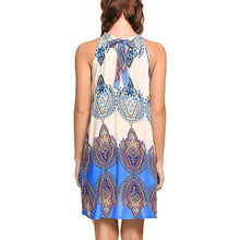 Sleeveless Graphic Mini Sundress