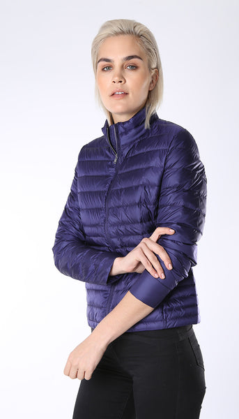 Ultra light weight down jacket - Blueberry