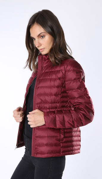 Ultra light weight down jacket - Cranberry