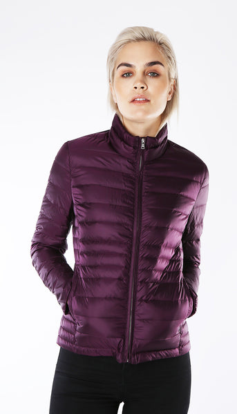 Ultra light weight down jacket - Dark Purple