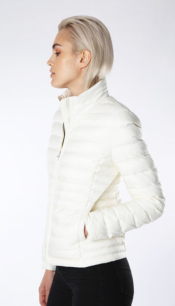Ultra light weight down jacket - Off White