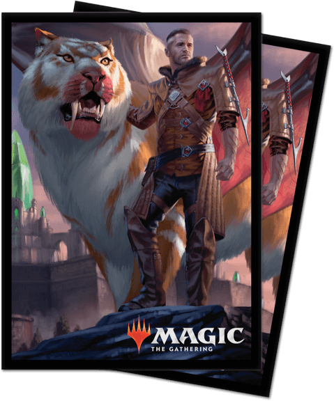 Magic the Gathering: Ikoria Lair of Behemoth Sleeves Lukka (100)