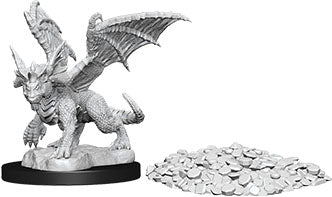 Dungeons & Dragons Nolzur`s Marvelous Unpainted Miniatures: W10 Blue Dragon Wyrmling