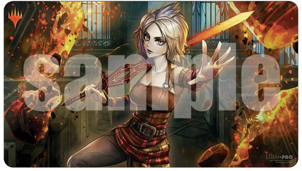 Magic the Gathering: War of the Spark Japanese Atl. Art Playmat - Nahiri